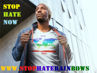 Stp Hate Rainbows, Stop Hate, Rainbows Stop Hate, stop hate now