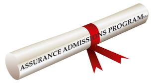 Assurance Admissions Program Guaranteed money back