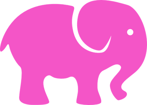 Image result for pink elephant