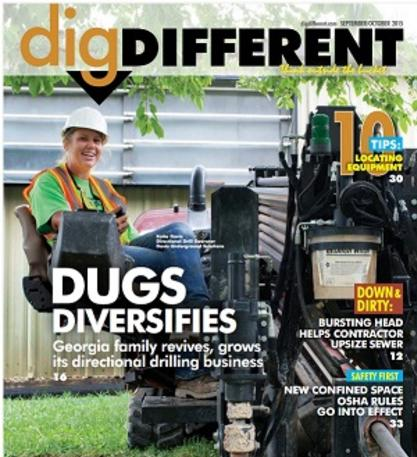 September/October 2015 Dig Different