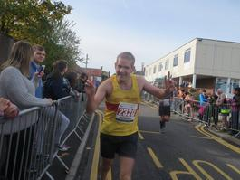 Jonty Parry run lactate sucess