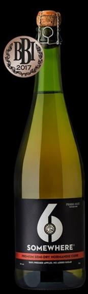 6Somewhere Semi-Dry Cidre 750ml Bottle