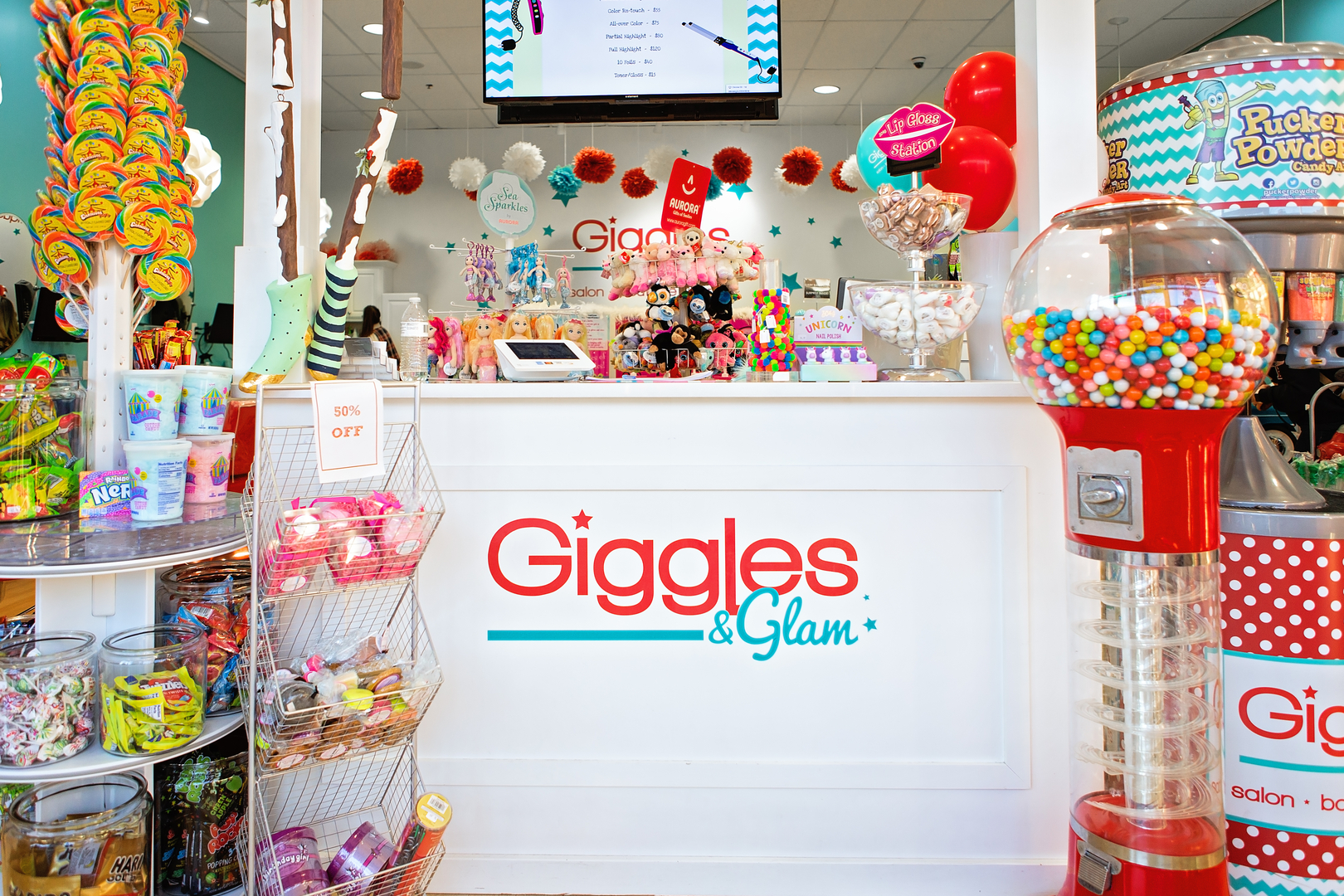 Giggles & Glam Salon - Birthday Party Places, Kids Haircuts