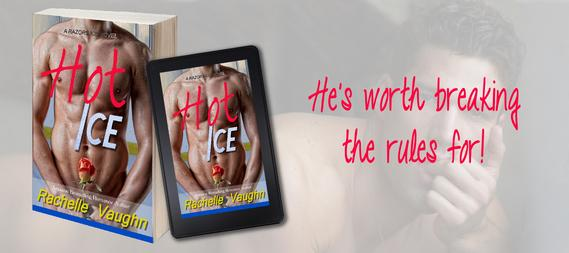 hot ice rachelle vaughn sexy hockey romance book massage sports oneclick