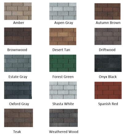 Owens Corning Shingle Colors Oakridge TruDef Duration – Owens Corning Roof Shingles Reviews