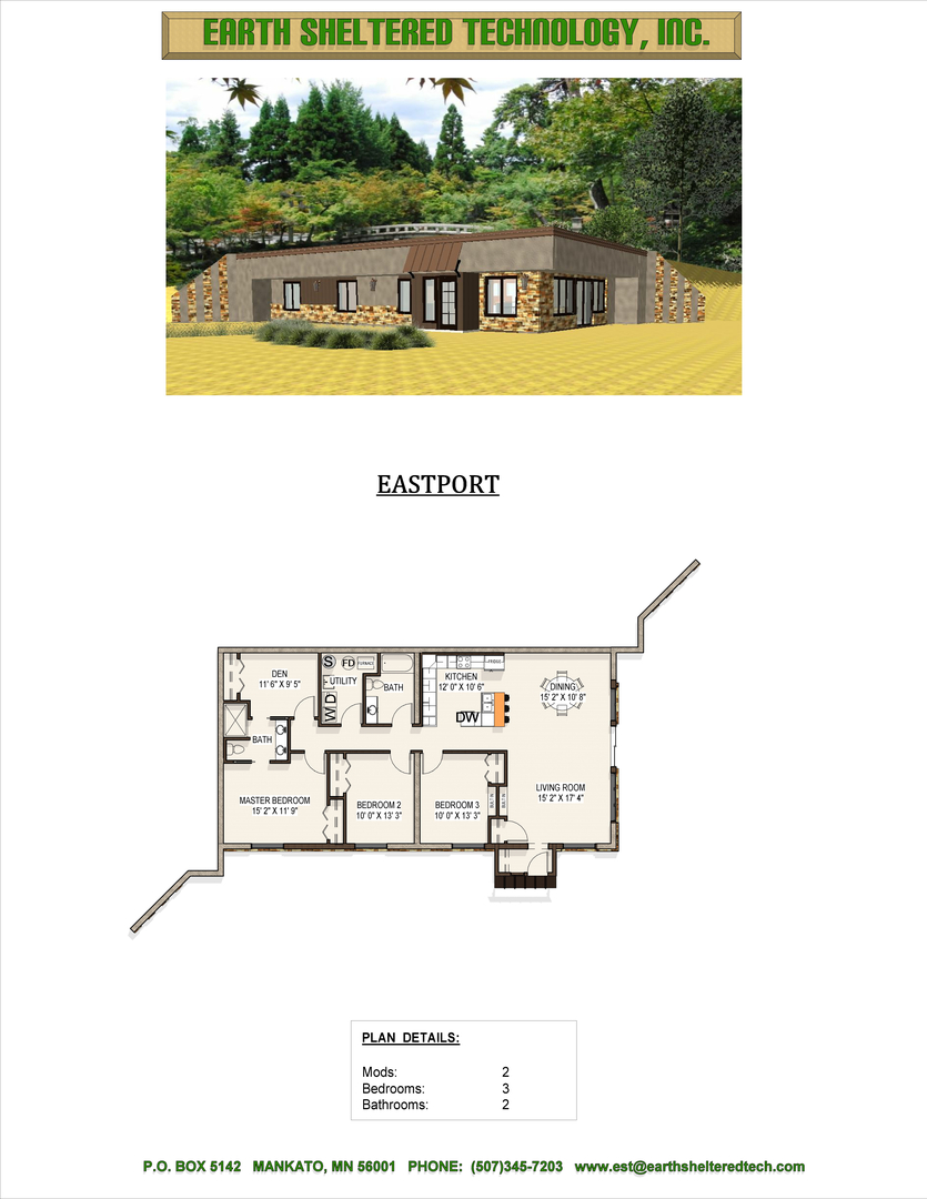 100+ [ earth sheltered home floor plans ] | berm home designs