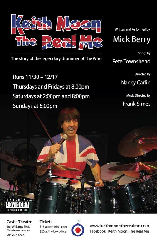 Keith Moon: The Real Me tickets