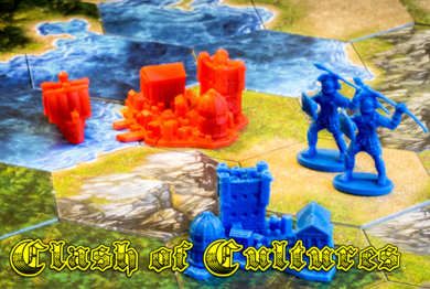 Muskegon's favorite civilization building game is Clash of Cultures.
