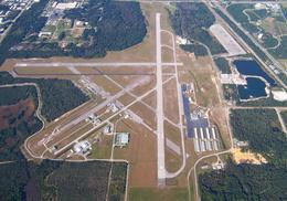 Overhead Photo of Space Coast Regional Airport