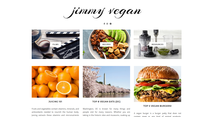 Jimmy Vegan home page