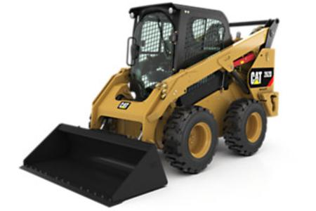 262D Skid Steer With Wheels