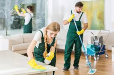 House cleaners, Maids services