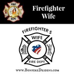 Patriotic Firefighter Wives
