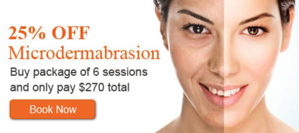 Microdermabrasion Package. Book yours today!