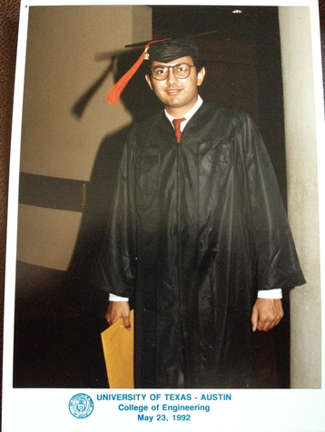 Sanjay B Dalal - Graduation from UT Austin