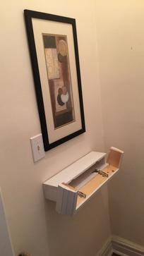 Diy Secret Compartment Floating Shelf