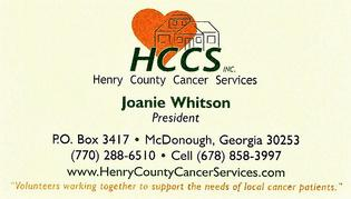 Henry County Cancer Services