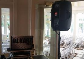 DJ KARZ offers wedding ceremony music as well as reception services