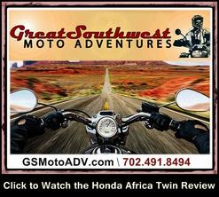 Great Southwest Moto Adventures - Honda Africa Twin Review