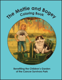 Mattie Bogey coloring book