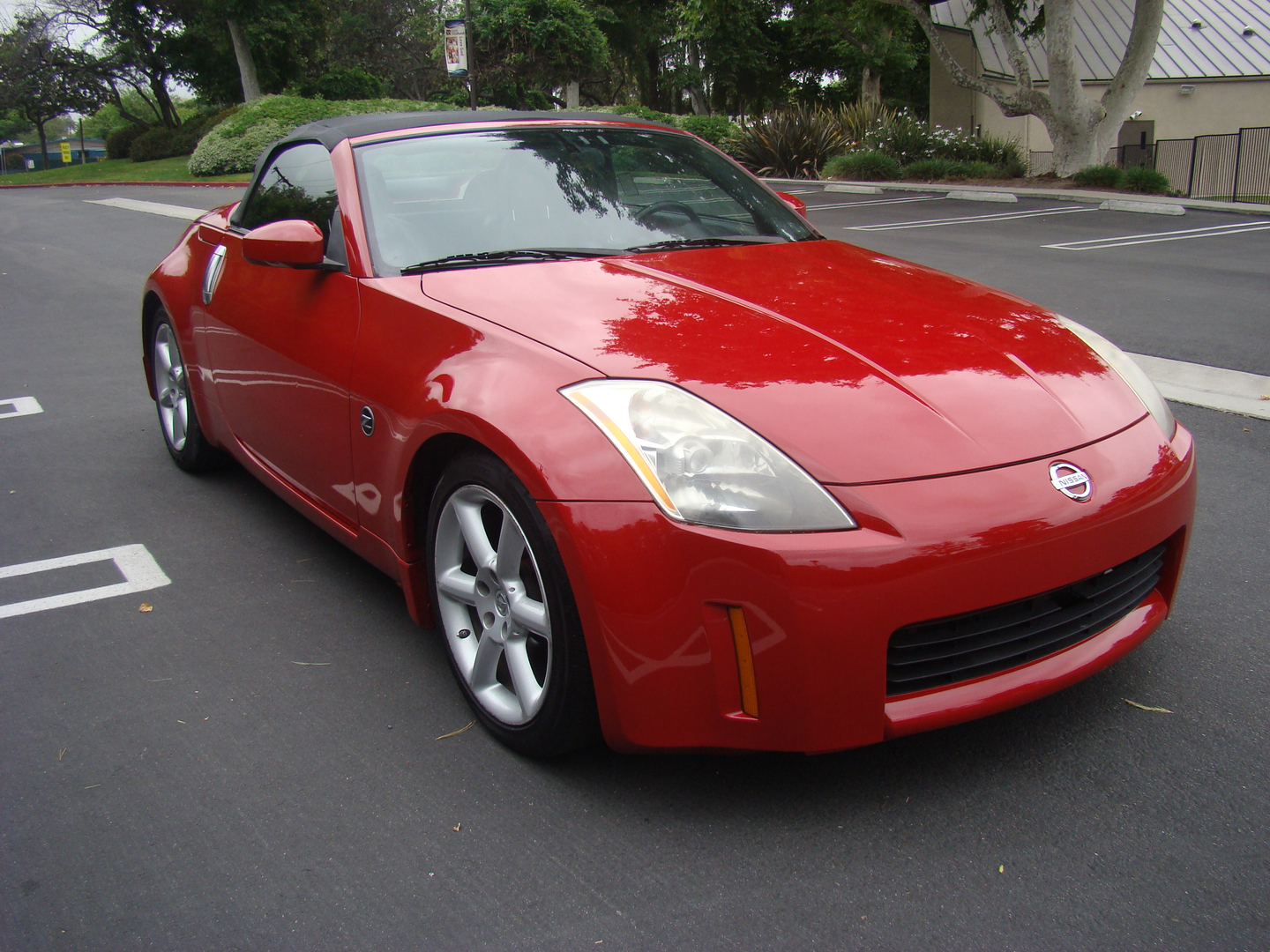 2005 nissan 350z red roadster 4763 2005 nissan 350z touring roadster convertible sciox Images