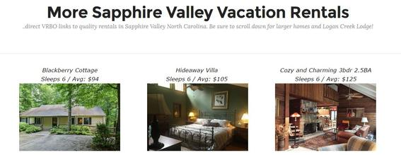 high south north carolina vacation rentals