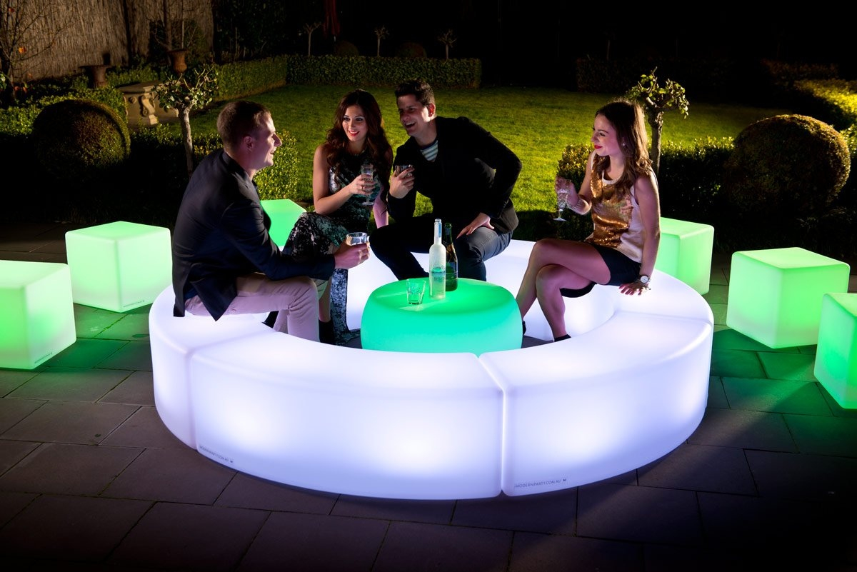 Illuminated Led Furniture Hire For Events In London Uk