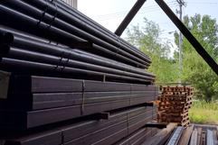 Steel pipe for sale, road plates