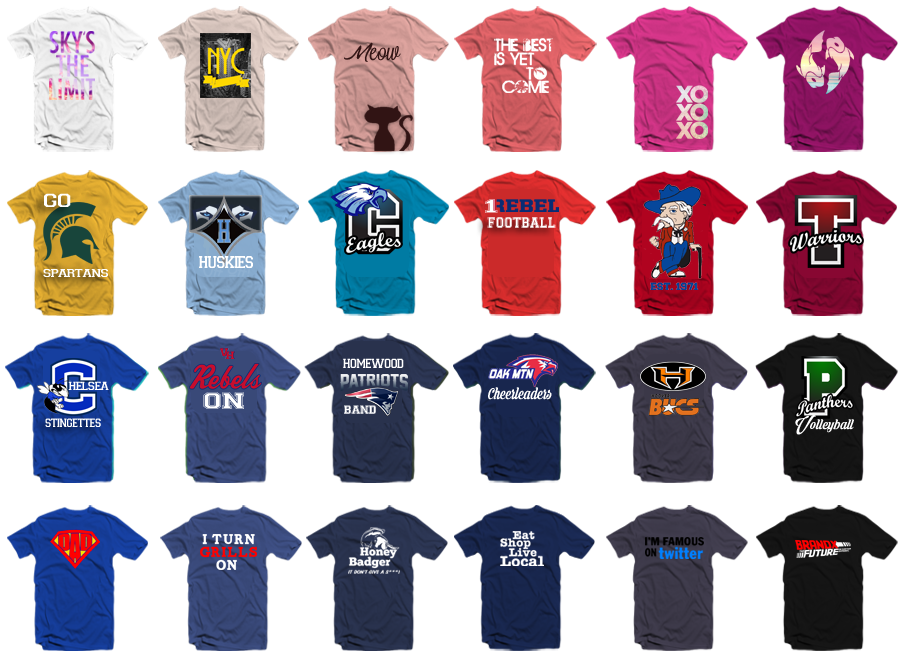 ideas for making your own t-shirt