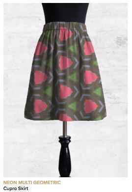 Multi-Wear Wrap - Lovely Pink and Green II by VIDA VIDA