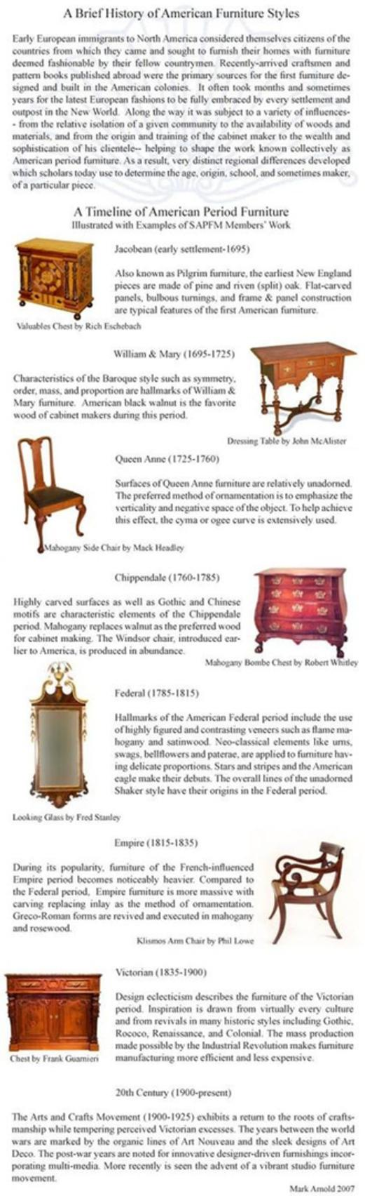 Furniture styles examples -  Furniture Styles Examples About
