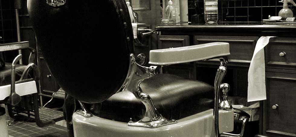 Old Time Barber Chair