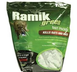 Ramik Rodenticide Extruded Pellet Packs 16 package - 4-pounds