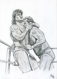 TOM ZENK vs ARN ANDERSON by Cliff Carson