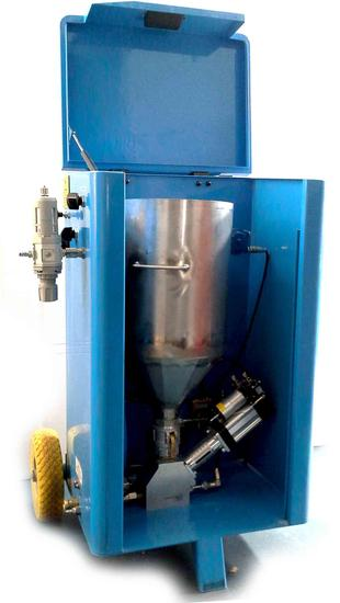 plastic powder feeder