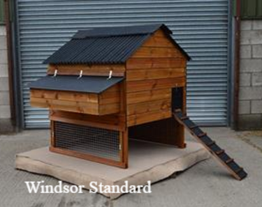 Windsor range of hen houses available at Chickenfeathers