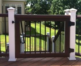 Trex Deck Gates & Decks/ TimberTech Deck Gates/ Fiberon Gates/ Azek
