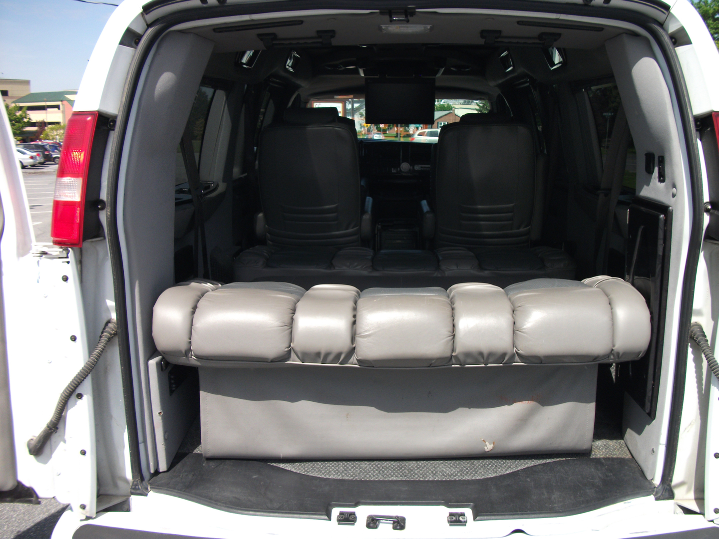 Conversion Rear Seat Bed