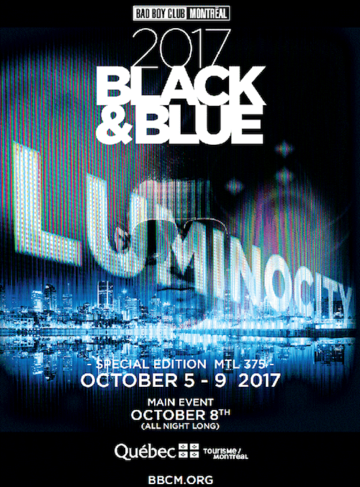 October 05-09, 2017 - Black and Blue 2017 in Montreal, Canada