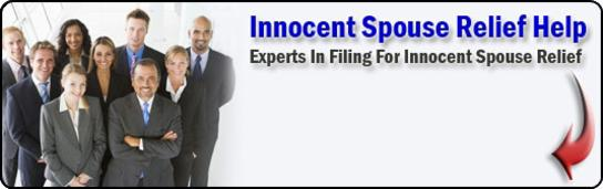 innocent spouse relief help
