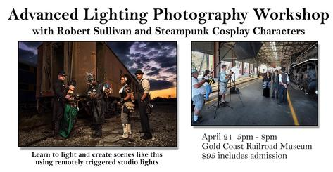 Steampunk Advanced Lighting Photography Workshop