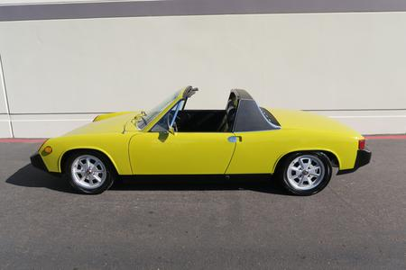 1975 Porsche 914 2.0 Targa for sale at Motor Car Company in San Diego California