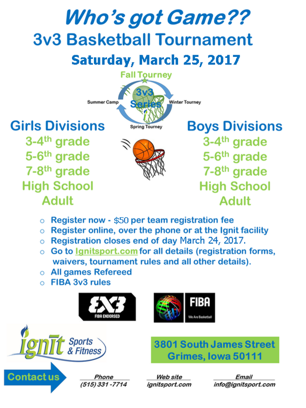 3v3 basketball wisconsin female adult tournament