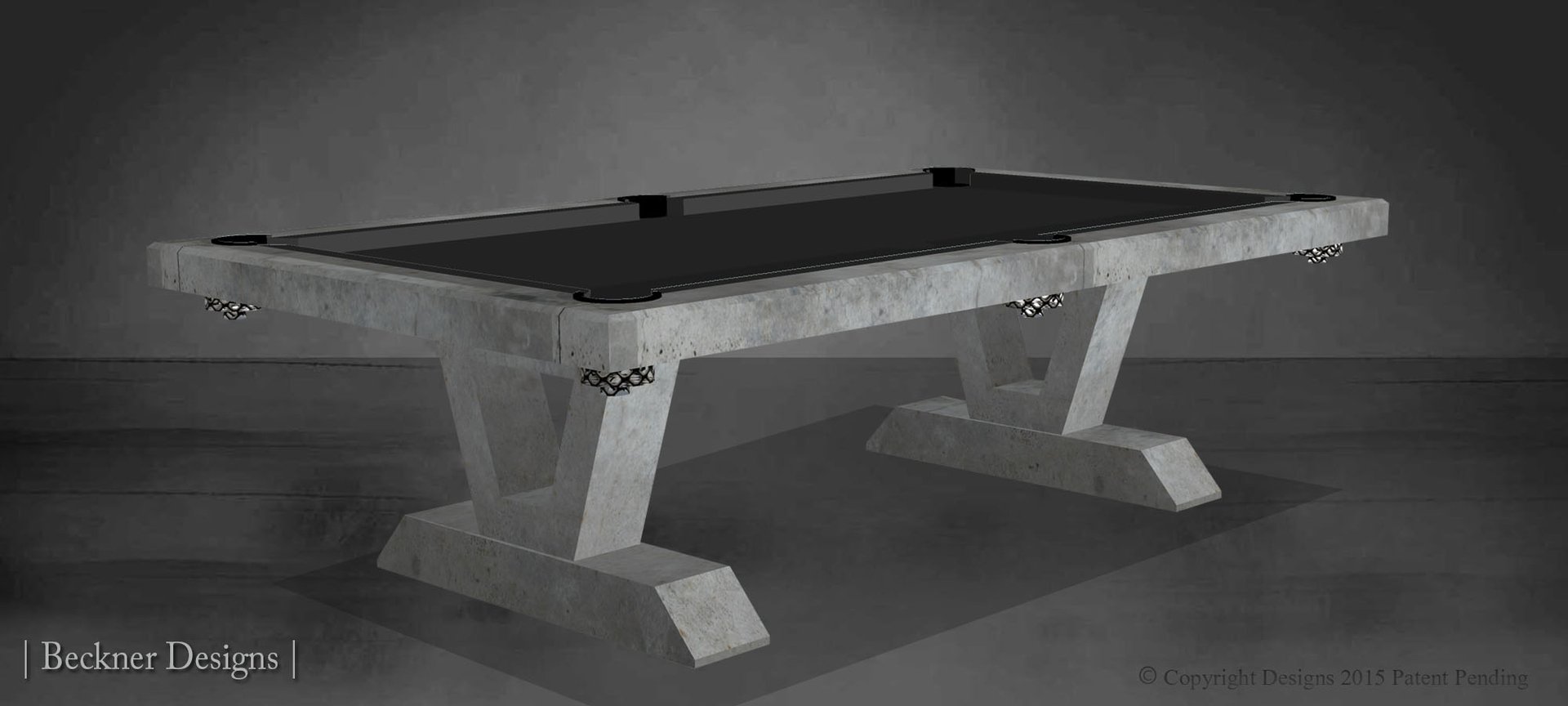 Beckner Designs Modern Pool Tables Custom Pool Tables - Modern pool table designs