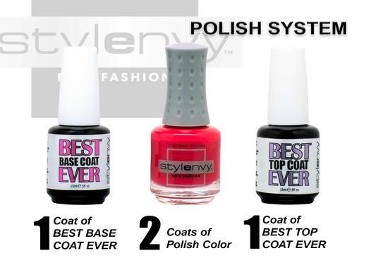 Nail Polish and Top and Base Coats