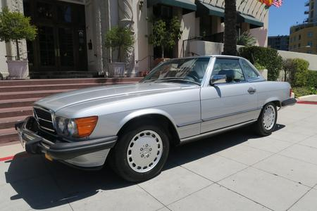 1989 Mercedes-Benz 560SL California Car for sale San Diego California