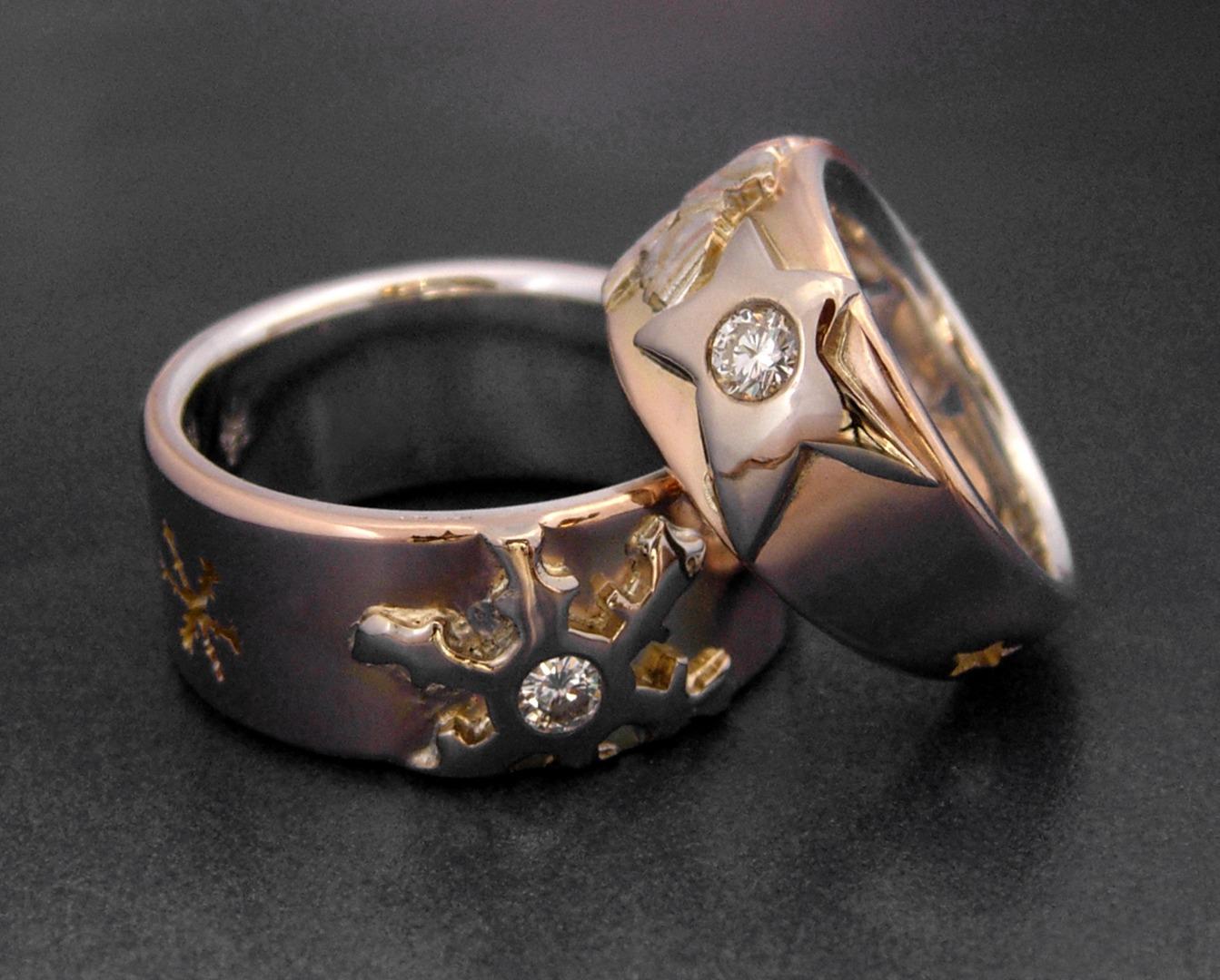 Stone Zamir Parker Jewelry Artist Custom Wedding Bands Custom