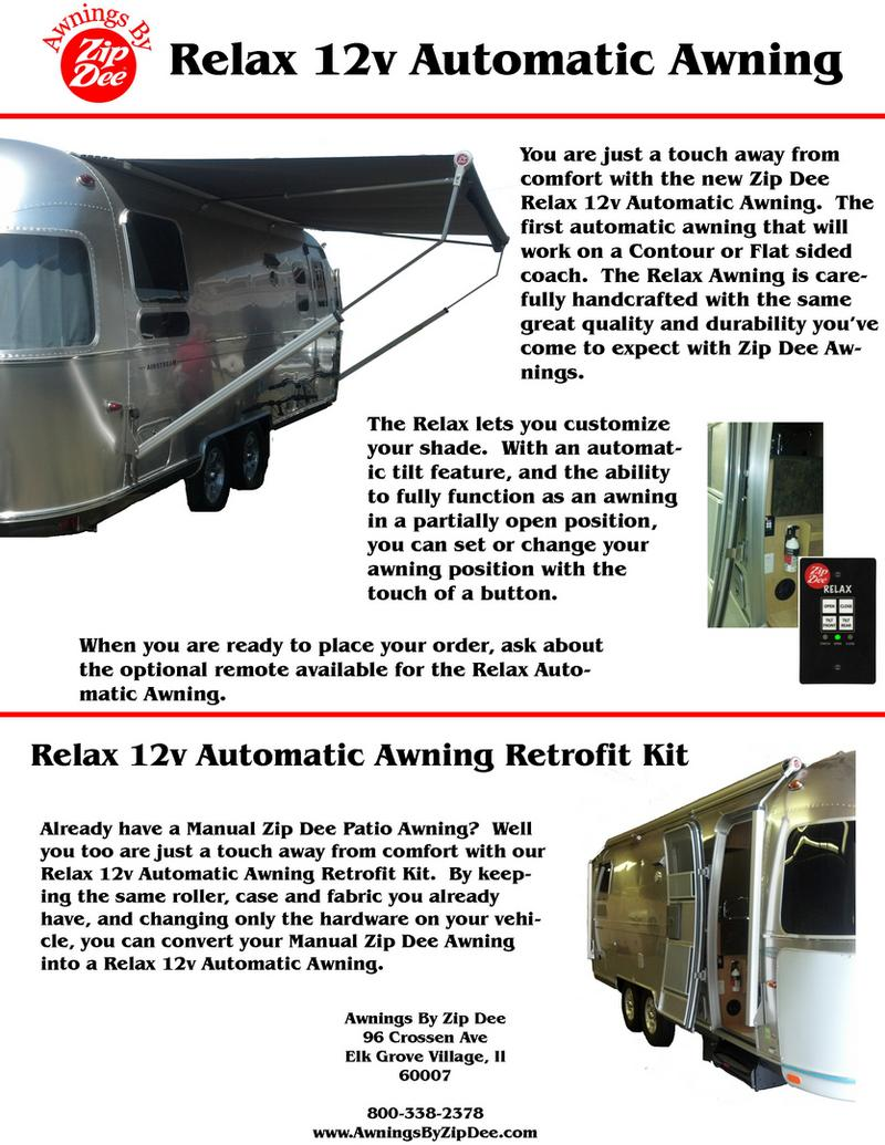 Relax 12v Automatic Awning
