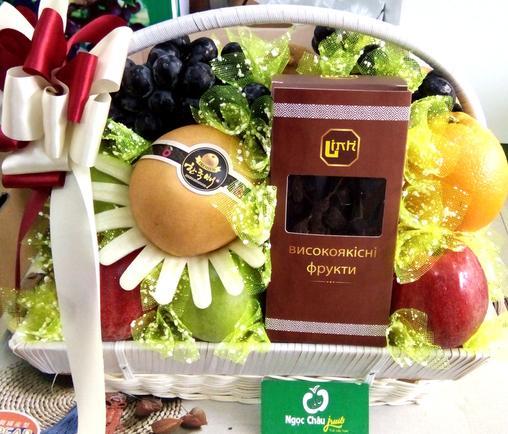 giỏ trái cây sinh nhật đẹp