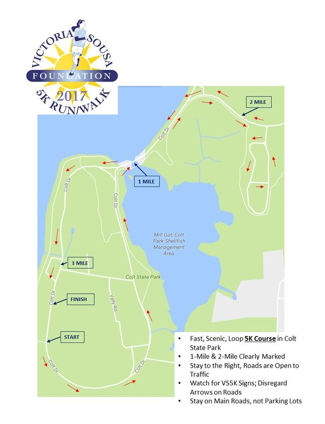 Course Map - Us Open Course Map
